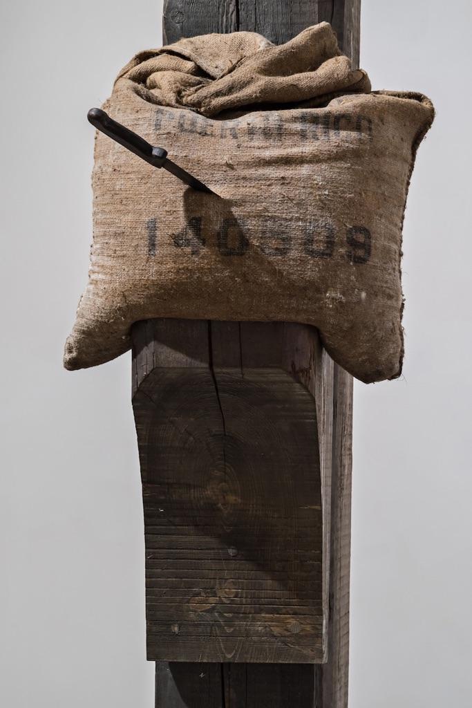 Jannis Kounellis, Senza Titolo, 1996 (particolare) - Courtesy the artist and Galleria Continua, San Gimignano-Beijing-Les Moulins - photo Ela Bialkowska, Okno Studio