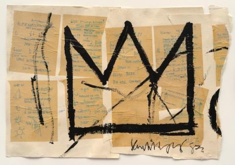 Jean-Michel Basquiat, Untitled (Crown), 1982