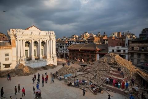 Maju Dega Temple in Basantapur Durbar (Kathmandu) - dopo