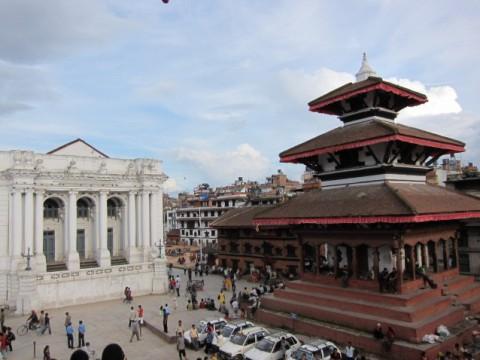 Maju Dega Temple in Basantapur Durbar (Kathmandu) - prima