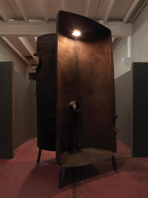 Marco Di Giovanni – L'infinito commestibile – veduta della mostra presso BeCube, Imola 2015 - photo Dario Lasagni