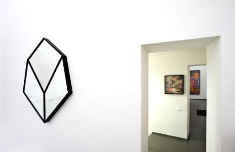 Maurizio Donzelli – Diramante - veduta della mostra presso la Galleria Eduardo Secci, Firenze 2015