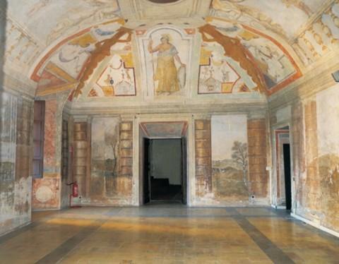 Palazzo Rospigliosi, Zagarolo - sala delle Motti