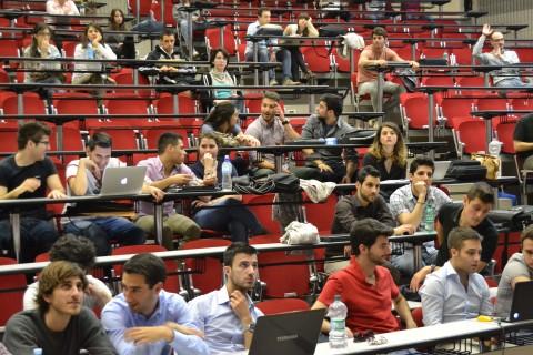 Studenti a Tor Vergata