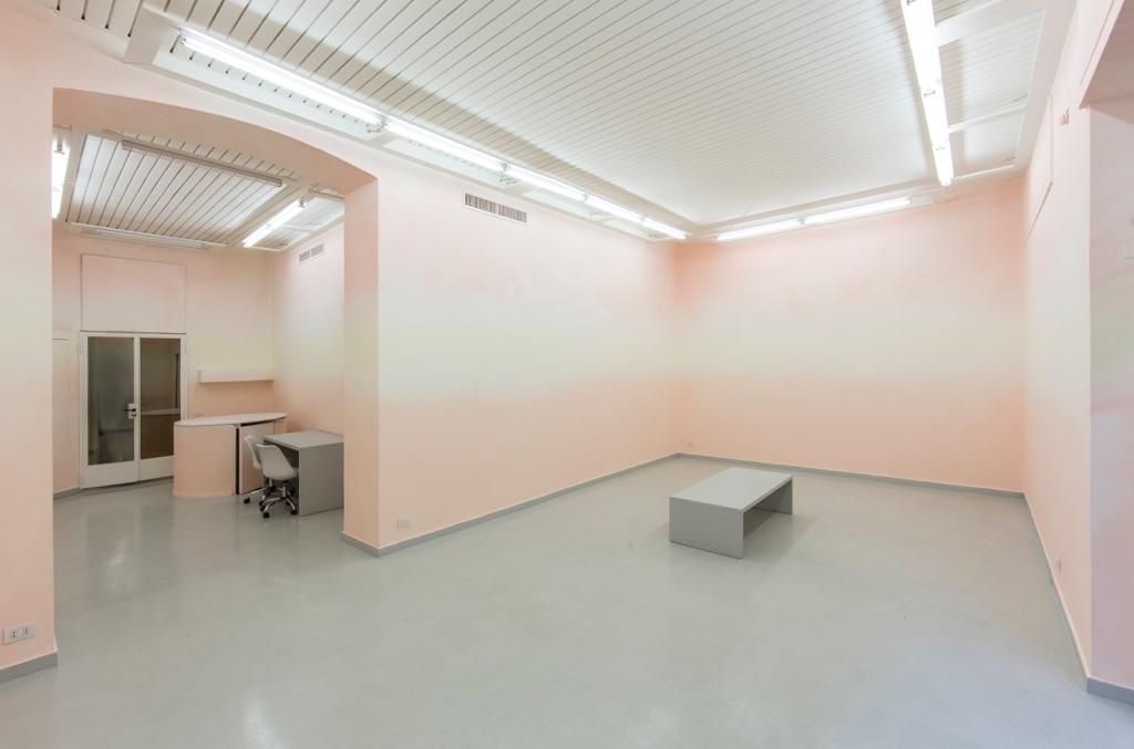 Valentino Vago – Camera Picta - veduta della mostra presso la Galleria Luca Tommasi, Milano 2015
