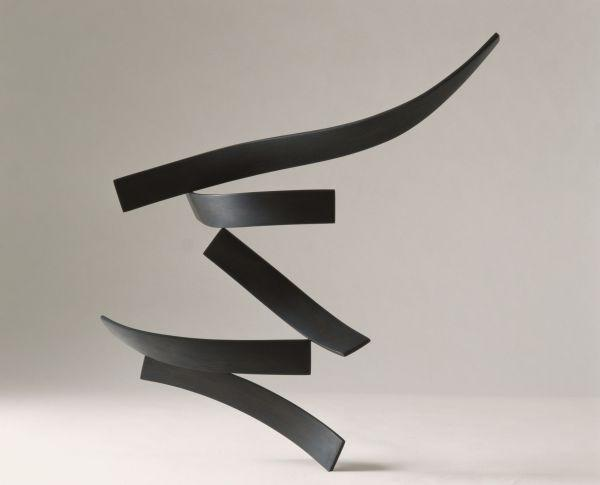 Roberto Almagno, Tremula, 2004, legno, cm 50 x 50 x 10