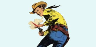 Tex Willer, protagonista del fumetto italiano Tex