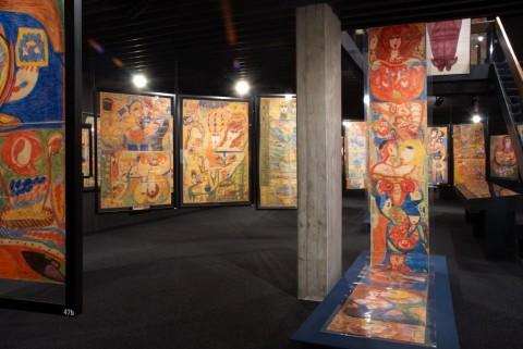 Aloïse – veduta della mostra presso il Musée Collection de l'Art Brut, Losanna 2012 - photo Caroline Smyrliadis