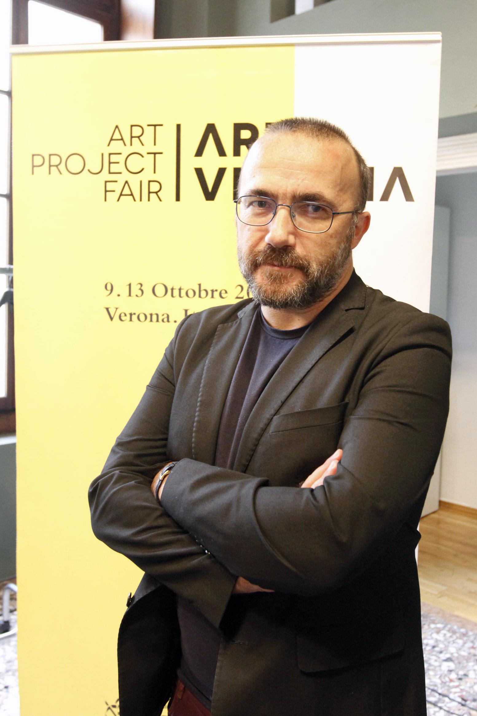 Andrea Bruciati, direttore artistico di ArtVerona
