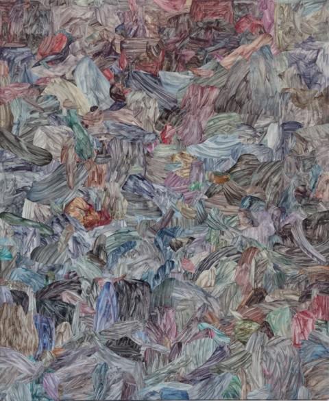 Barbara Prenka, Scorcio per un punto di riferimento, 2014 - courtesy l'artista e Galleria Massimodeluca