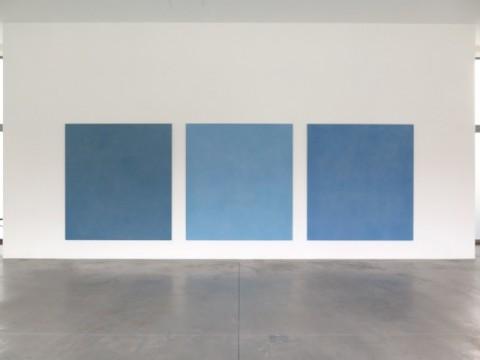 Ettore Spalletti, Parole di colore, 2015 - veduta dell'installazione presso Galleria Lia Rumma, Milano 2015 - Courtesy Galleria Lia Rumma, Milano - Napoli