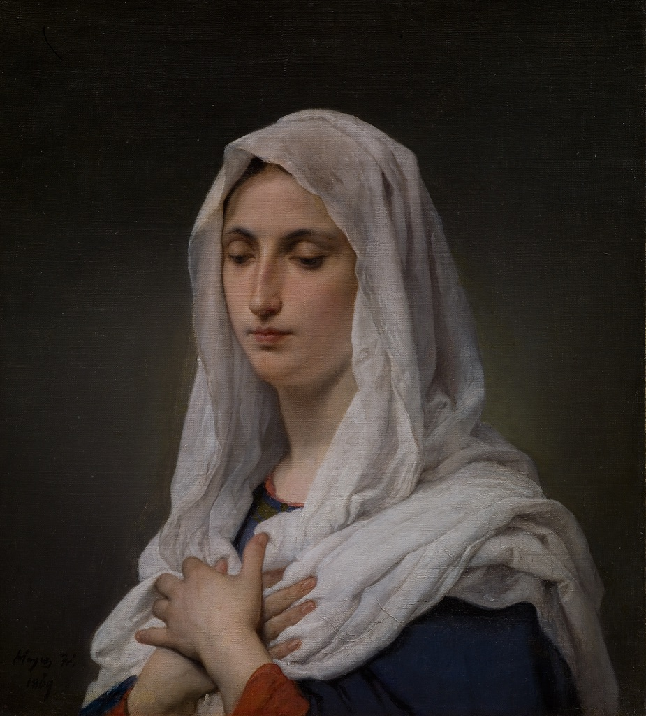 Francesco Hayez, Orante, 1869 - Collezione Poscio