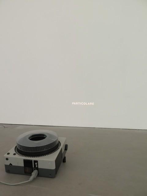 Giovanni Anselmo, Particolare, 1972-2015 - veduta dell'installazione presso Galleria Lia Rumma, Milano 2015 - Courtesy Galleria Lia Rumma, Milano - Napoli