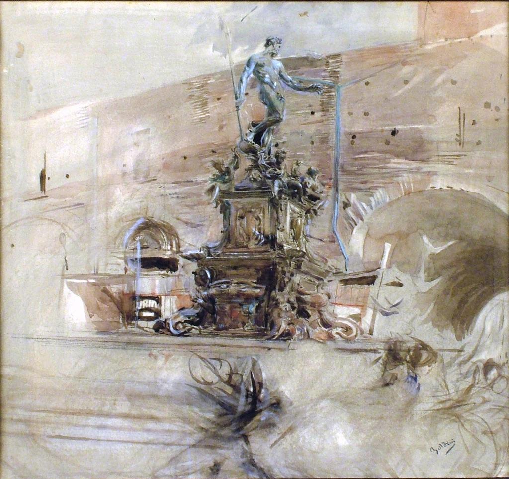 Angelo Morbelli, Le parche, 1904 - Milano, Studio d'Arte Nicoletta Colombo