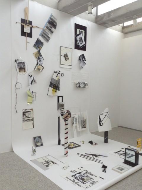 Il frutto maturo e la terra indifferente - veduta della mostra presso il Museo Nivola, Orani 2015