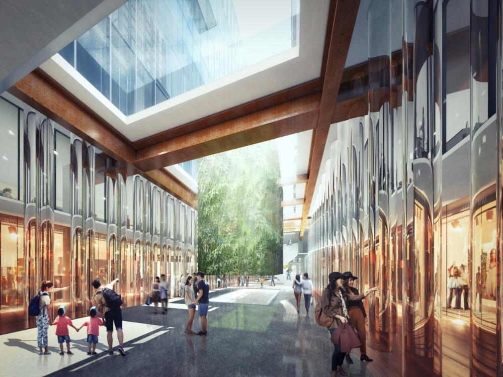 Il progetto di Boeri per l'ex Borsa di Shanghai (courtesy Stefano Boeri Architetti) 05