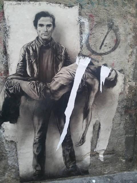 La Pietà di Pasolini di Pignon, vandalizzata a Napoli