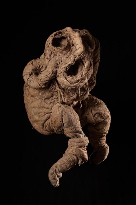Michel Nedjar, Sans titre, 2012 - photo Atelier de numérisation-Ville de Lausanne - Collection de l'Art Brut, Lausanne
