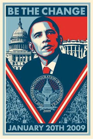 Obey, Barak Obama - Be The Change