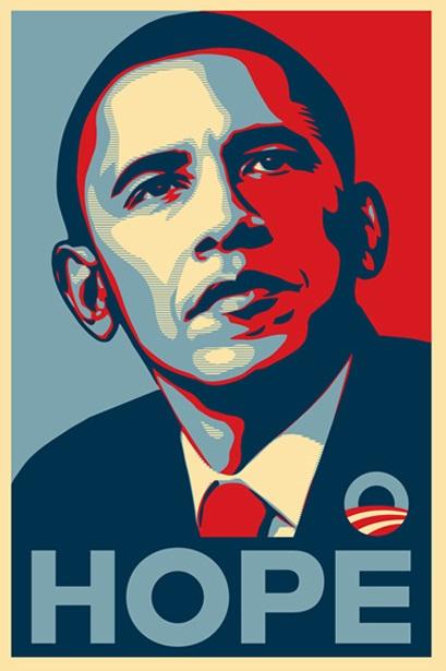 Obey, Barak Obama - Hope