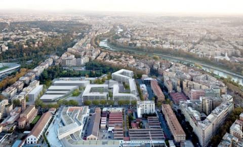 Progetto Flaminio - Il progetto di Labics Paredes Pedrosa Arquitectos
