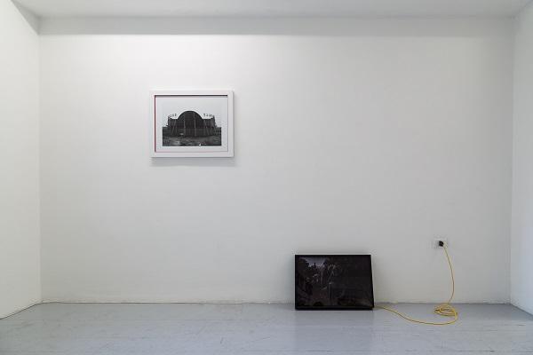 Silvia Mariotti & Ryts Monet – Nessun dove - veduta della mostra presso Artcore, Bari 2015