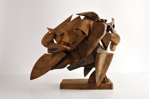 Umberto Boccioni, Costruzione dinamica di un galoppo, 1914 - Roma, Collezione privata