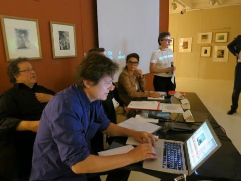 Biennale Foto-Industria 2015 - la conferenza stampa a Milano