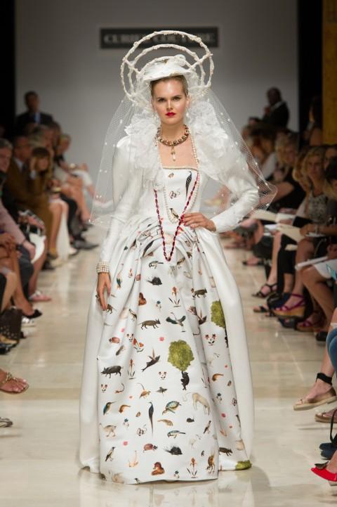 Curiel Couture Haute Couture FW 15-16. Ph Paolo Lanzi