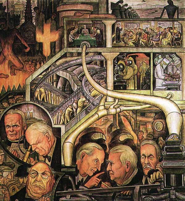 Diego Rivera, Industria moderna, 1933