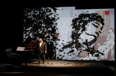 Franz Schubert, Winterreise - animazioni di William Kentridge - Chigiana International Festival & Summer Academy