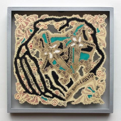Gabriella Ciancimino, Liberty Flower Tile 8, 2014-15