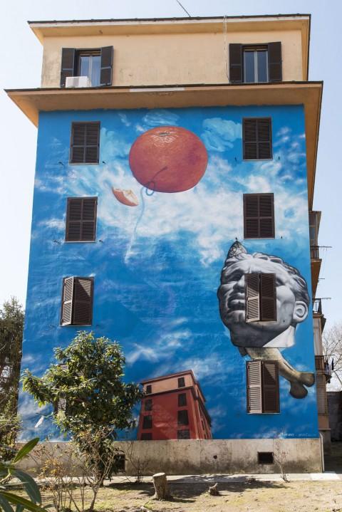 Gaia, Spettacolo Rinnovamento Maurità, 2015 - Tormarancia, Roma - foto Giorgio Benni