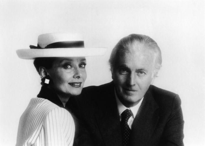Audrey Hepburn e Hubert de Givenchy a metà degli anni Ottanta