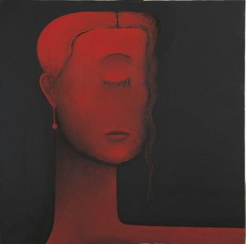 Gino De Dominicis, Ritratto di Alessandra J., 1997-98 - collezione privata, Modena