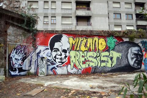 Graffiti a Milano, foto by urbantrash.net