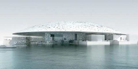 Il futuro Louvre Abu Dhabi, progettato da Jean Nouvel