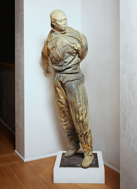 Juan Muñoz, Pelotaris (Yellow Eyes), 1999 - collezione Iannaccone, Milano.