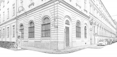 La sede del nuovo Centro Italiano per la Fotografia Torino