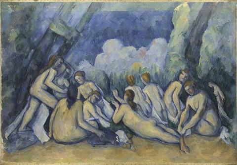 Le Bagnanti di Cézanne, 1894-1905