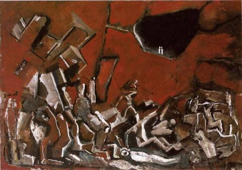 Mario Sironi, Apocalisse, 1960