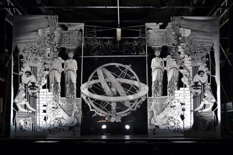Matteo ufocinque Capobianco, Chronophilia, installazione realizzata con Werther Banfi