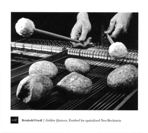 Reinhold Friedl, Golden Quinces, Earthed, for spatialised Neo-Bechstein