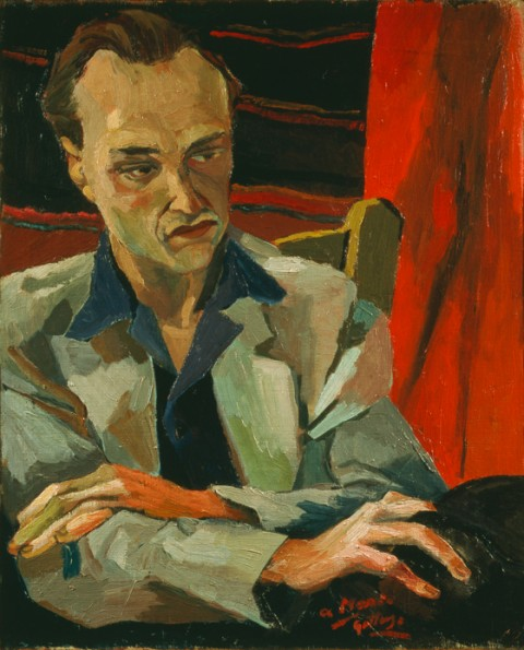 Renato Guttuso, Ritratto di Mario Alicata, 1940 - collezione Iannaccone, Milano
