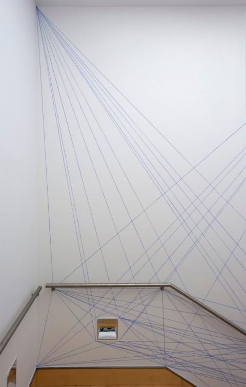 Sol Lewitt, Wall drawing 51 - Fundación Botín, Santander 2015