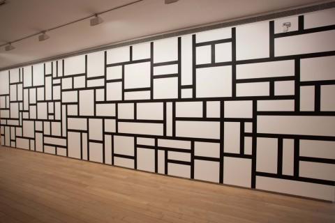 Sol Lewitt, Wall drawing 614 - Fundación Botín, Santander 2015