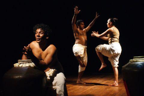 Spettacolo Ganapati della Compagnia Adishakti