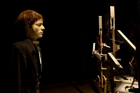 Taddeus Kantor, Macchina dell'amore e della morte - Museo Internazionale delle Marionette, Palermo 2015 - foto Giovanni Bordonaro