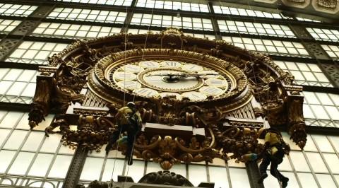 L'orologio del Musée d'Orsay di Parigi