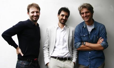 Il team di Wardroba - Fulvio Catalano, Federico Della Bella, Luca Nardone